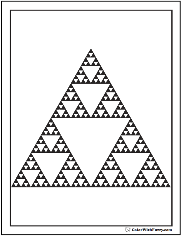 Sierpinski Triangle Coloring