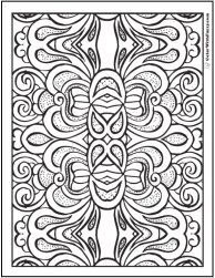 30+ Pattern Coloring Pages ✨