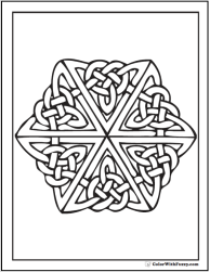 87+ Celtic Designs coloring pages ✨