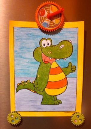 Fun Alligator Pages To Color