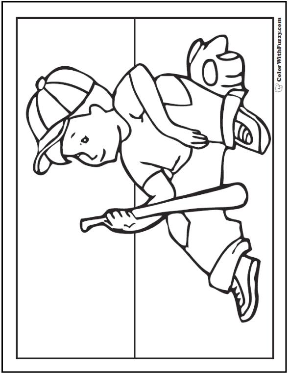 Sweet Little Boy Coloring Pictures