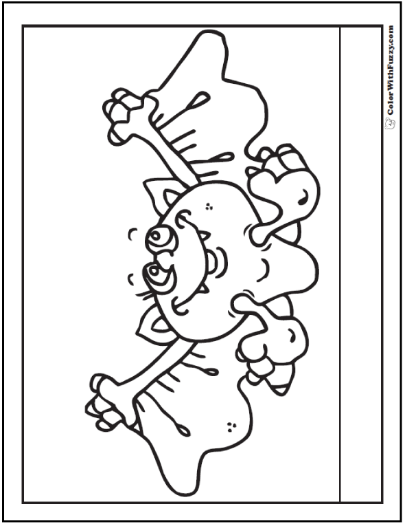 Halloween coloring pages: Flying Bat Coloring Picture