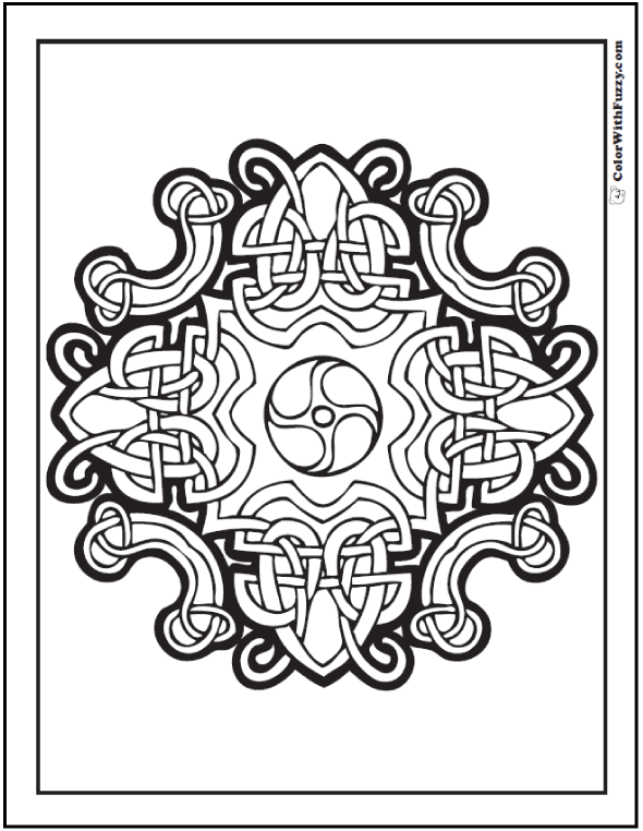 Fuzzy's Celtic Knot Designs: Looped Hearts Celtic Art And Design