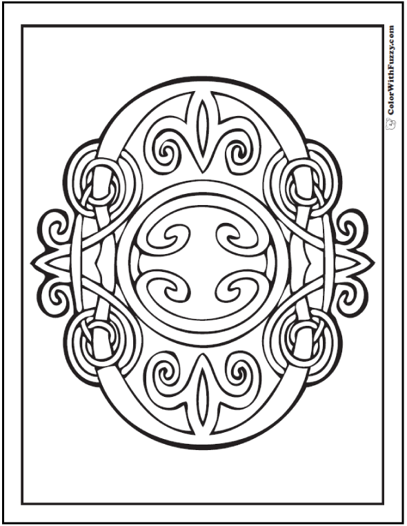 Fuzzy's Celtic Knot Designs: Celtic Knots Designs ✨ #ColorWithFuzzy #PrintableColoringPages #CelticColoringPages #ColoringPagesForKids #AdultColoringPages