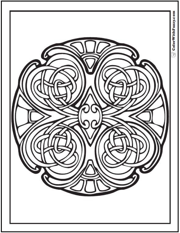 top celtic mosaic coloring pages with free printable mosaic coloring pages