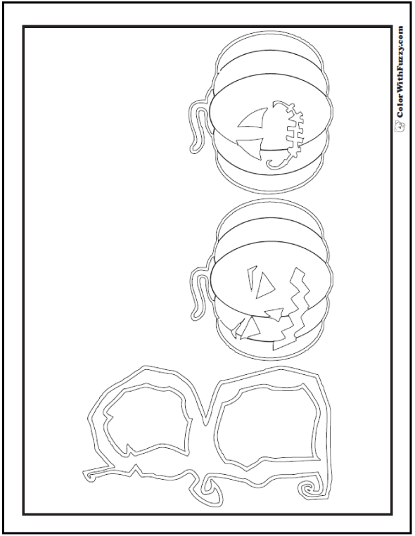 Coloring Sheets Halloween Boo
