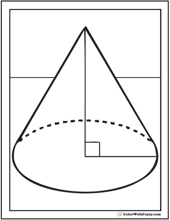 Right Angle Cone
