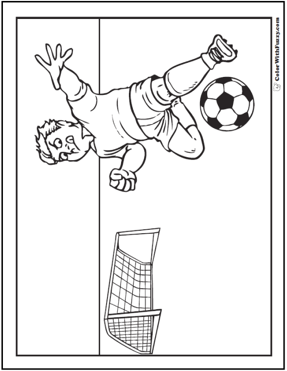 Cool Soccer Moves To Color