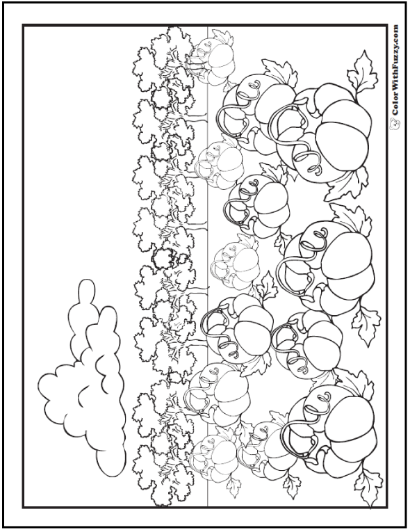 harvest coloring pages printables - fall harvest coloring printables customizable pdf