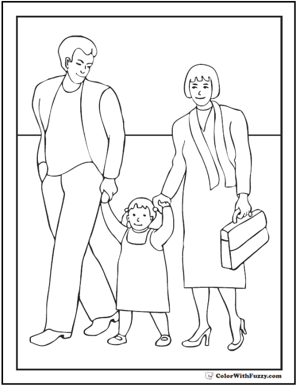 i love my daughter coloring pages | 45+ Mothers Day Coloring Pages: Print And Customize For Mom