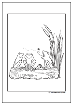 49 Frog Coloring Pages: Hopping Good Fun And Customizable