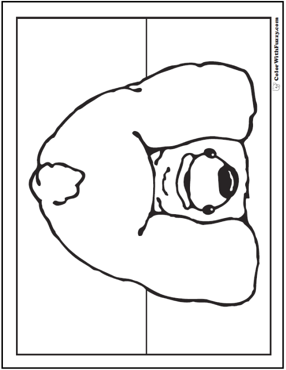 whimsical bear coloring pages - photo#29
