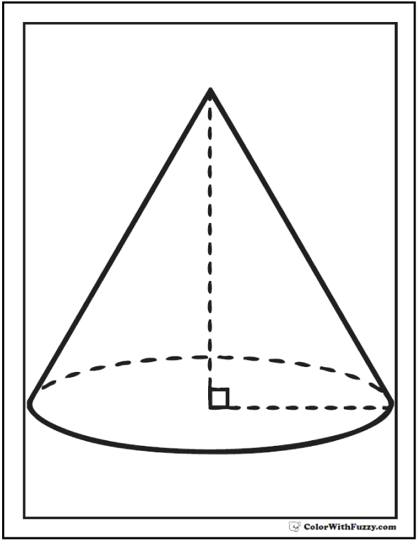 Right Cone Details For Math