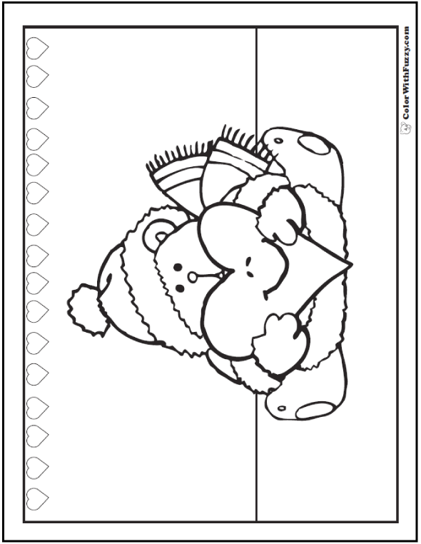 fuzzy wuzzy bear coloring pages coloring pages