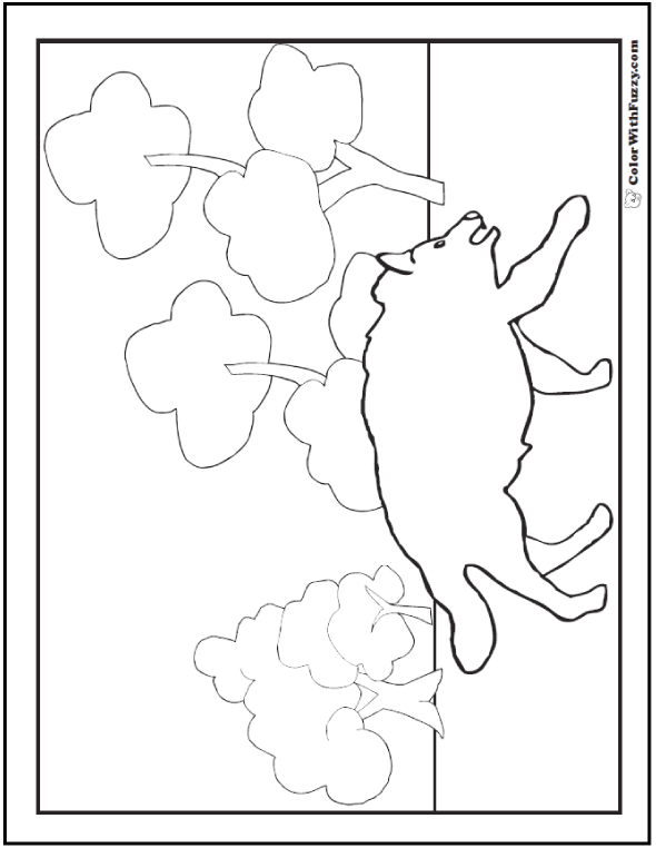 gray wolf coloring pages - photo#22