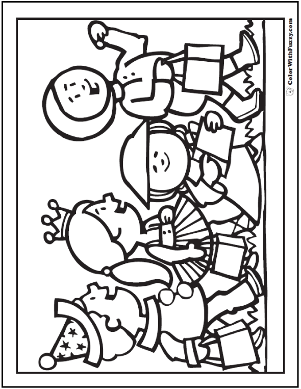 Halloween Costumes Coloring Pages