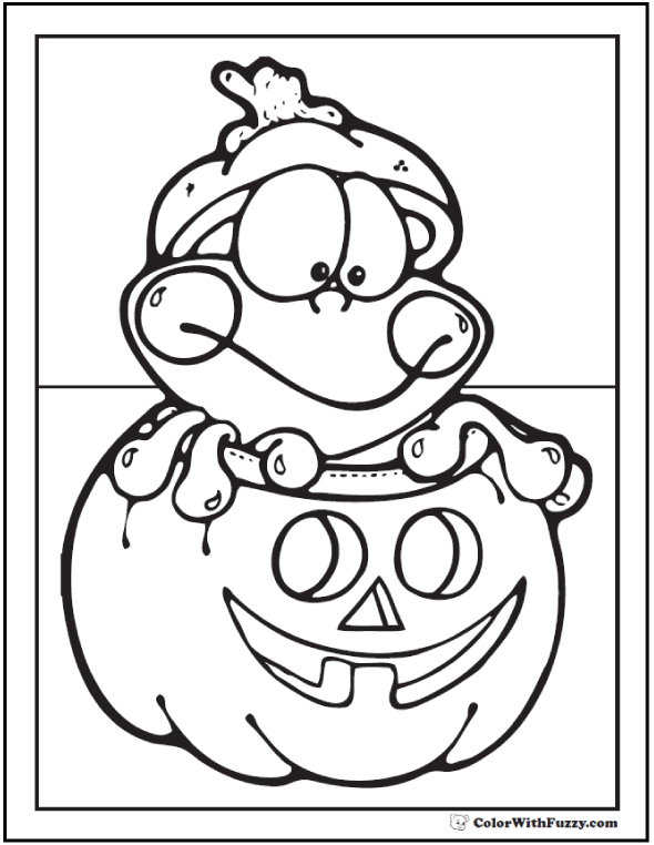 dora coloring pages halloween goblin - photo#40