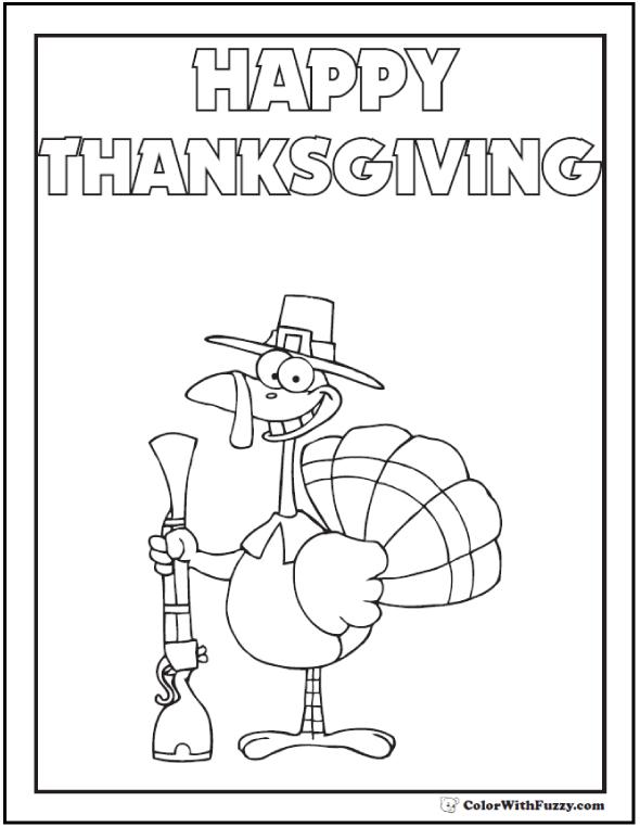 Happy Thanksgiving Printable
