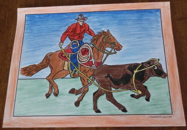 Exciting horse coloring pages for kids.