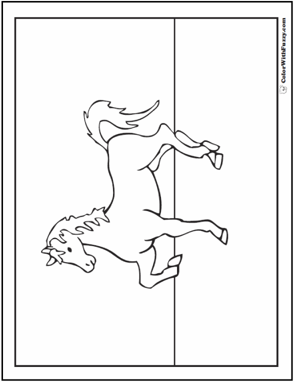 One of my favorite Horses Coloring Pages