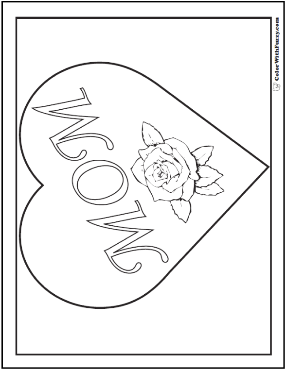 I Love Mom Happy Mothers Day Coloring Theme