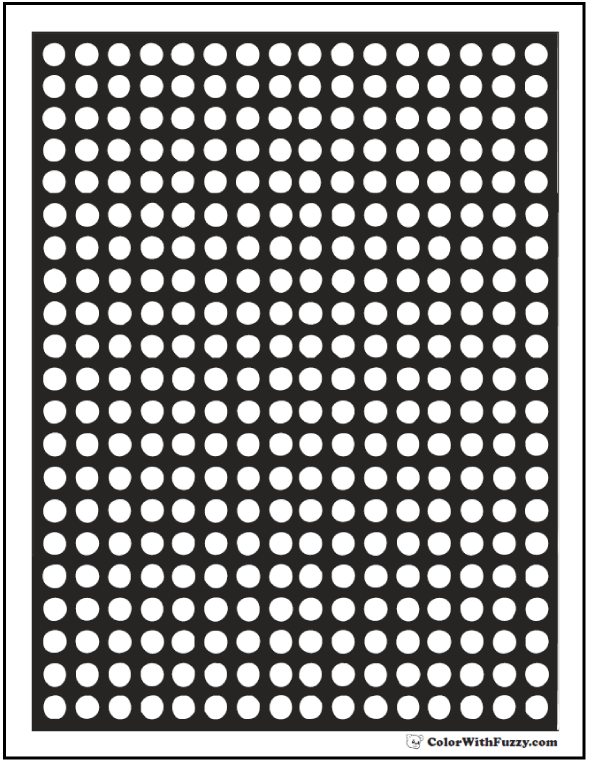 Polka Dot Patterns Sheets