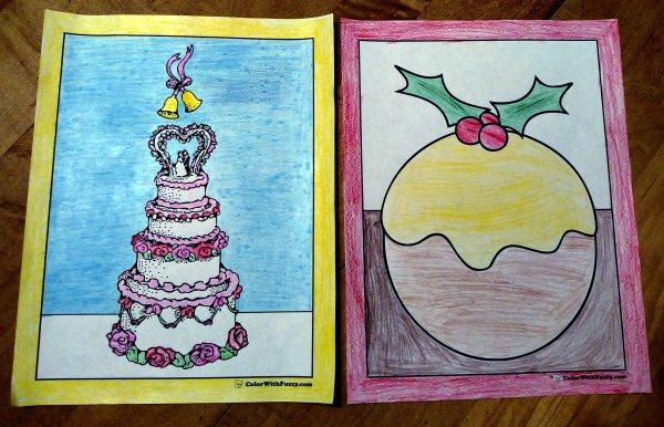 20+ Cake Coloring Pages: Customize PDF Printables