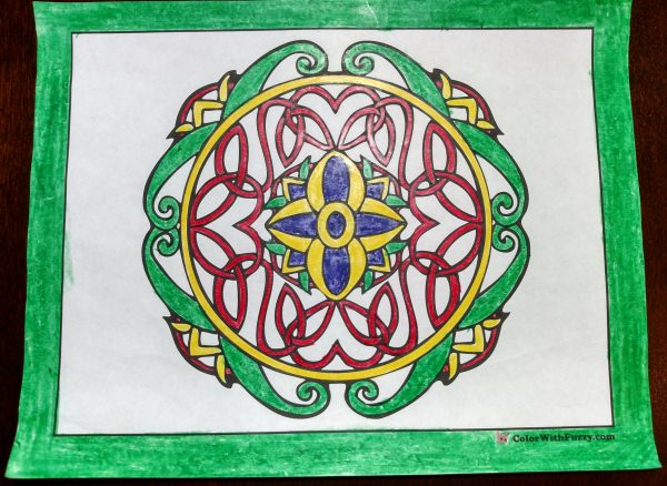 Celtic Knot Designs To Color