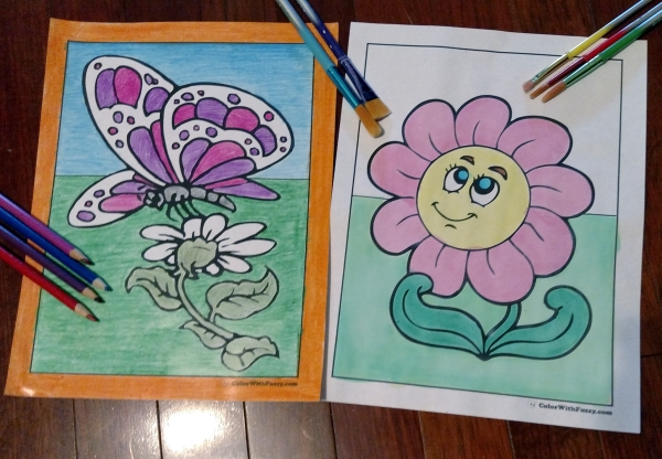 Coloring Pages Zinnia : Daisy coloring pages: 15 customizable pdfs