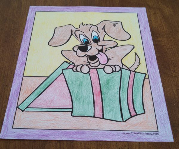 Fun Dog Coloring Sheets