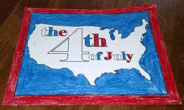 Coloring Pages For The Fourth Of July