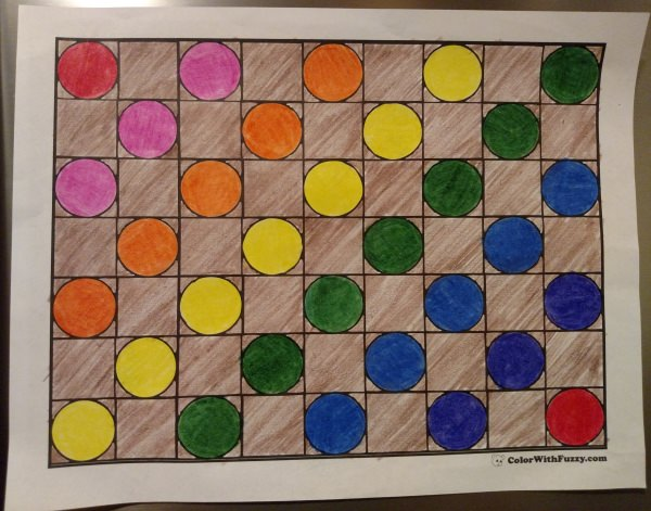 Creative Pattern Coloring Pages
