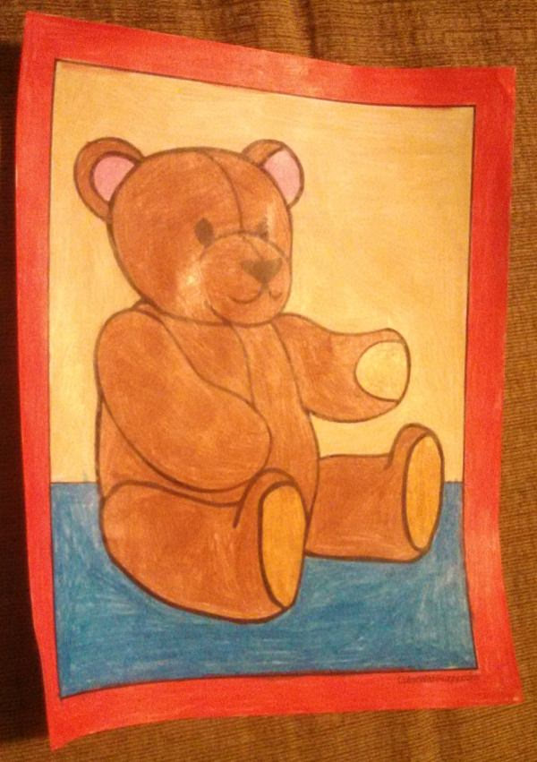Lovable Teddy Bears To Color
