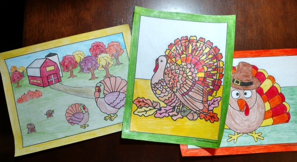 30+ Turkey Coloring Pages