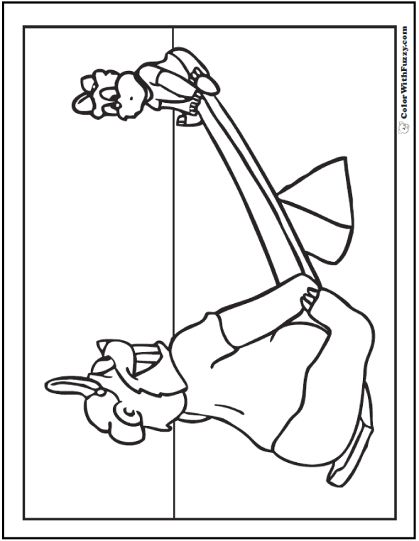 See Saw Teddy Bear Activity To Print For Kids