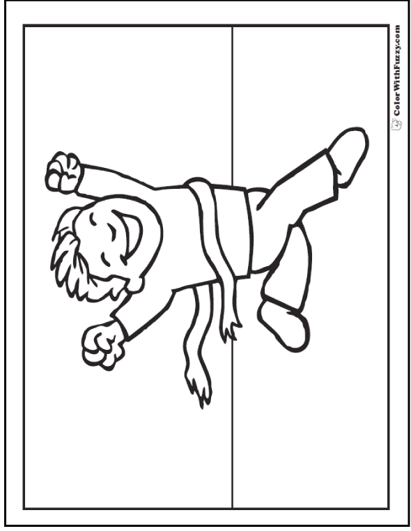 The Winner Track And Field Coloring Pages