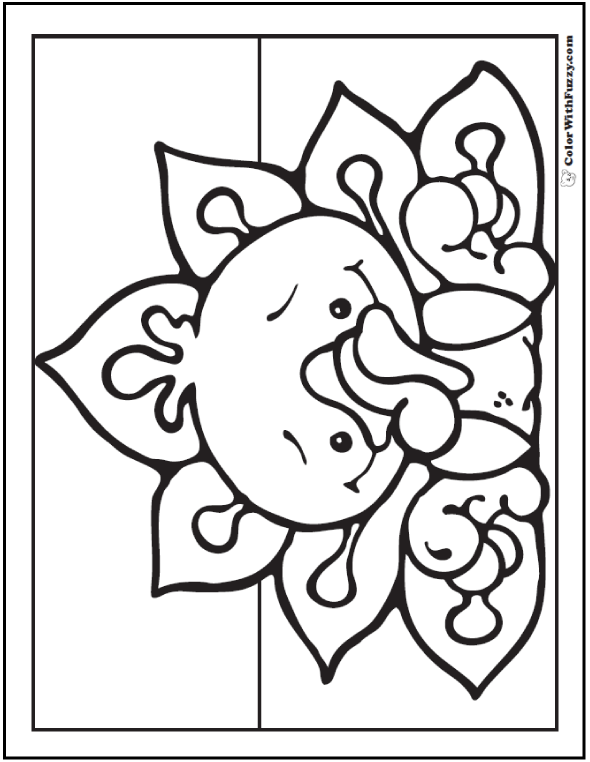 cute turkey coloring pages - photo#21