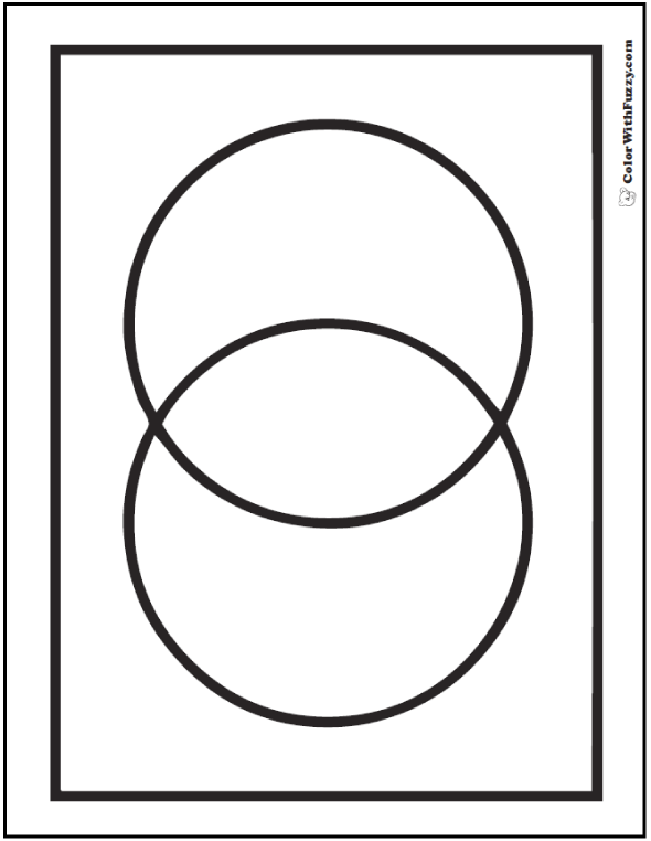 Two Circles Overlapping