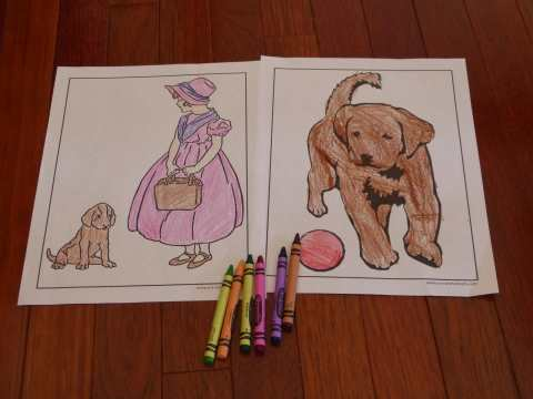 100s of Animal Coloring Sheets