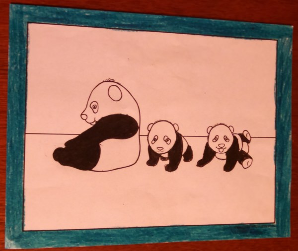 Coloring Pages Of Pandas