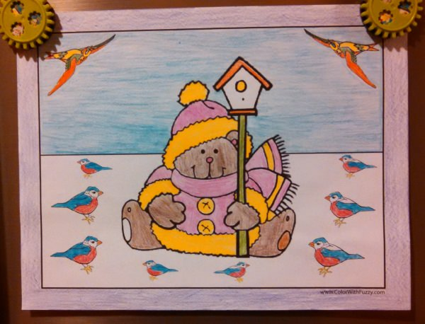 Have fun with our teddy bear coloring sheets!